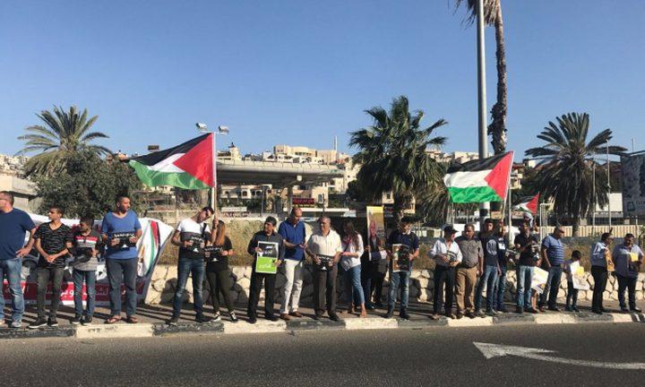 مظاهرات في الداخل مساندة للأسرى المضربين