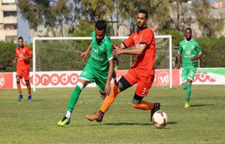 الزعيم يقصى بطل دوري غزة من بطولة الكأس