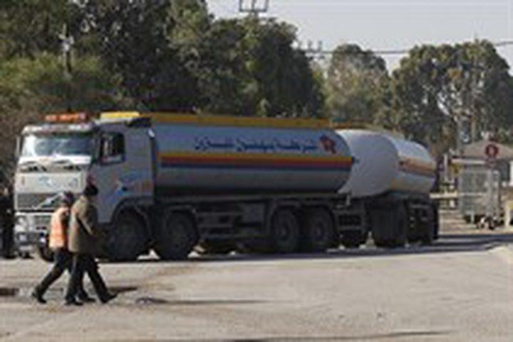 ضخ كميات من الوقود الى قطاع غزة