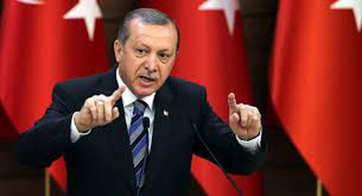 اردوغان:لن نسمح بإقامة ممر إرهابي على حدودنا
