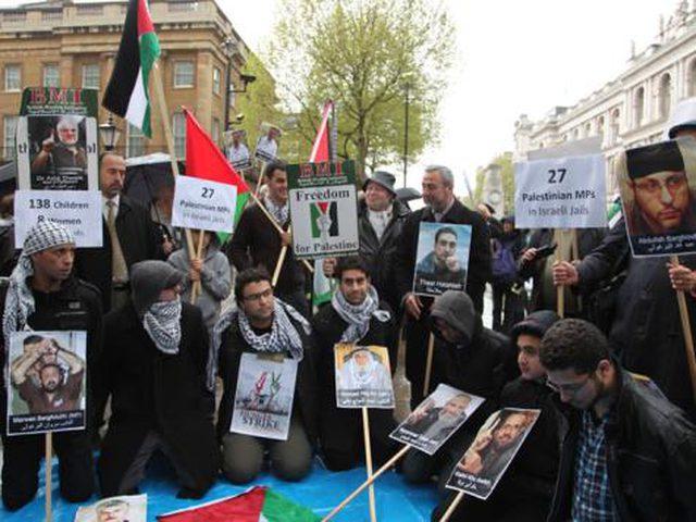 اعتصام في لندن اليوم تضامنًا مع الأسرى