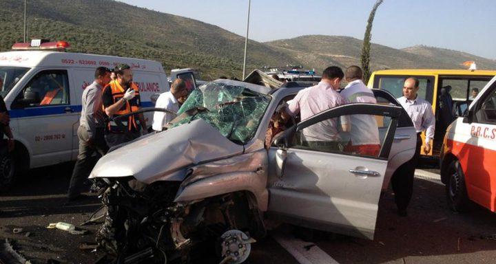 الشرطة: 187 اصابة في 240 حادث سير الاسبوع الماضي