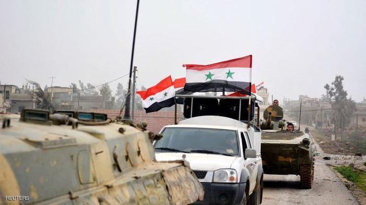 القوات السورية تسجل تقدماً بالغوطة