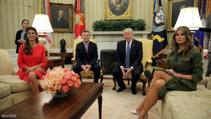 ميلانيا ترامب تخطف الأنظار مرة أخرى