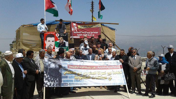"""امتداد """"إضراب الكرامة"""" من فلسطين إلى لبنان"""