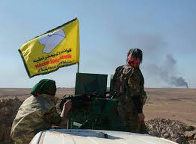 """تقدم القوات الكردية في الطبقة السورية على حساب""""داعش"""""""