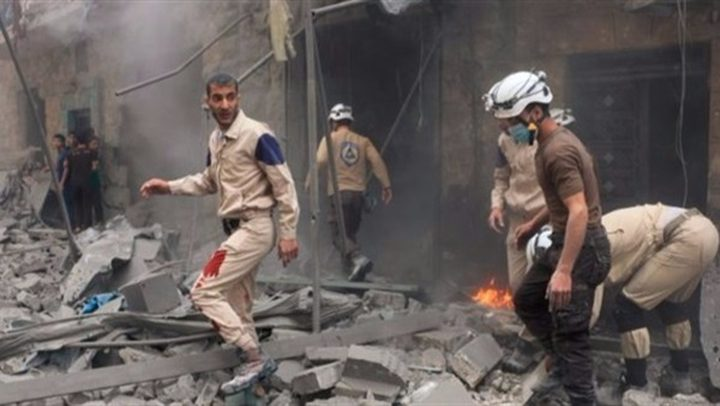 مقتل متطوعين من الخوذ البيضاء في سوريا