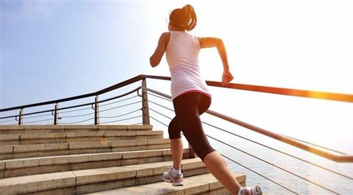 صعود وهبوط الدرج يعزز النشاط أكثر من الكافيين
