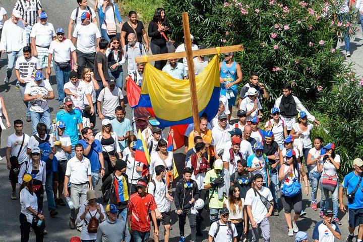 فنزويلا: المعارضة تدعو لمسيرات جديدة