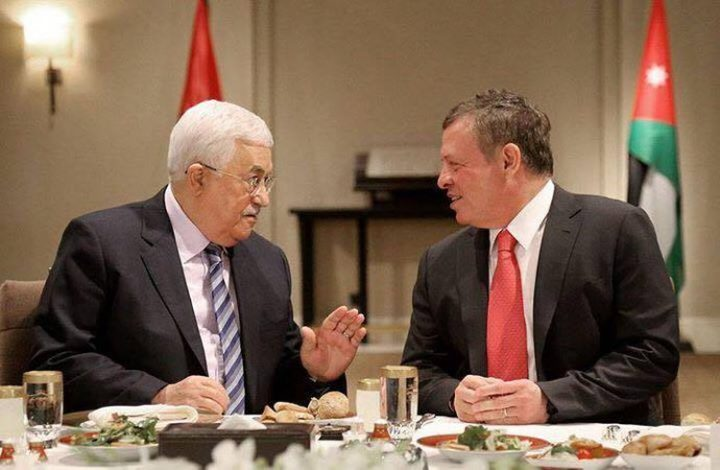 الرئيس والملك الأردني بحثا إطلاق مفاوضات جادة