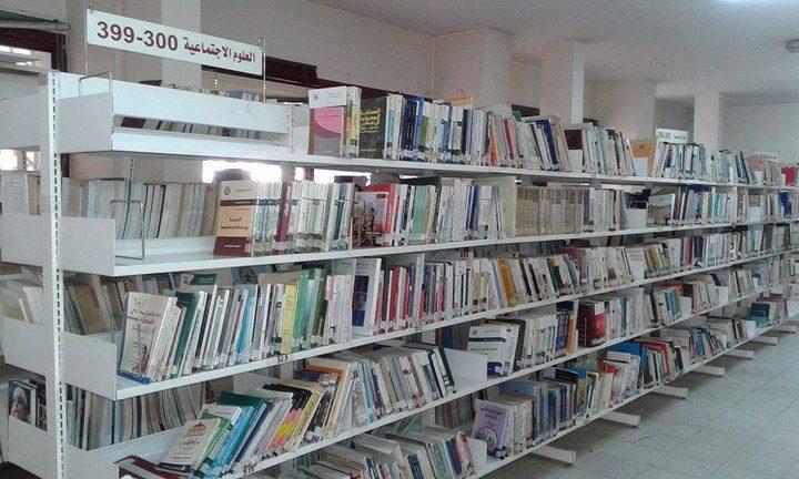 مكتبات غزة العامة تشكو الغبار من قلة الزوار (صور)