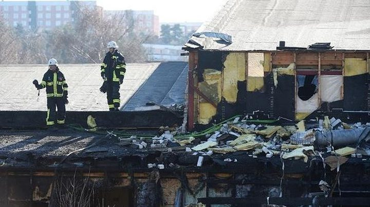 السويد.. حريق مشبوه يدمر مسجداً