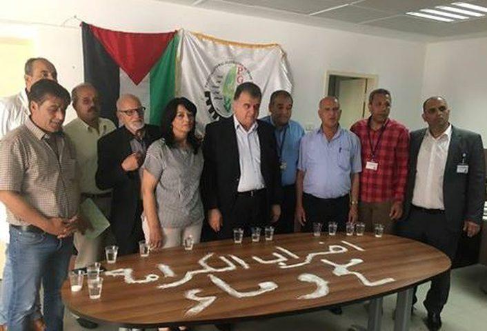 اتحاد نقابات عمال فلسطين يحيي الأول من أيار