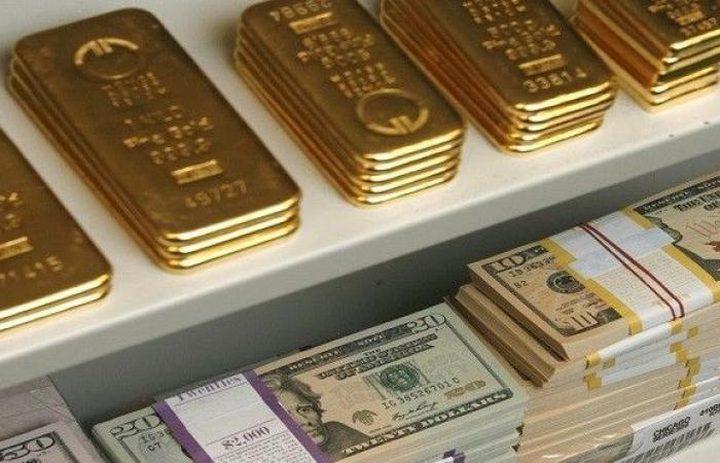 المعدن الأصفر يهبط مع ارتفاع الأسهم والدولار