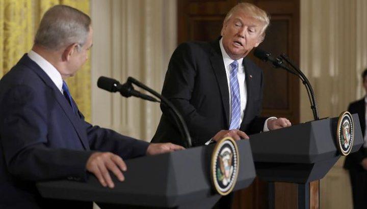 ترامب يواصل مناقشة النشاط الاستيطاني مع نتنياهو