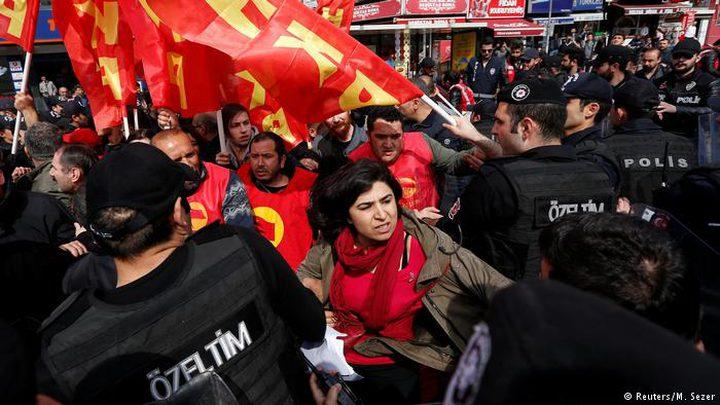 مظاهرات ومواجهات في عيد العمال في تركيا وباريس