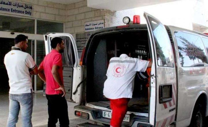 إصابة طفل إثر سقوطه ببركة مياه في خان يونس