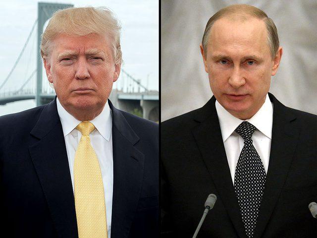 ترامب وبوتين يتفقان على ضرورة وقف إطلاق النار في سوريا