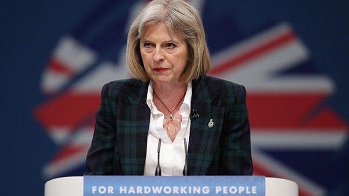 ماي: بروكسل تتعمد اطلاق تهديدات ضد بريطانيا