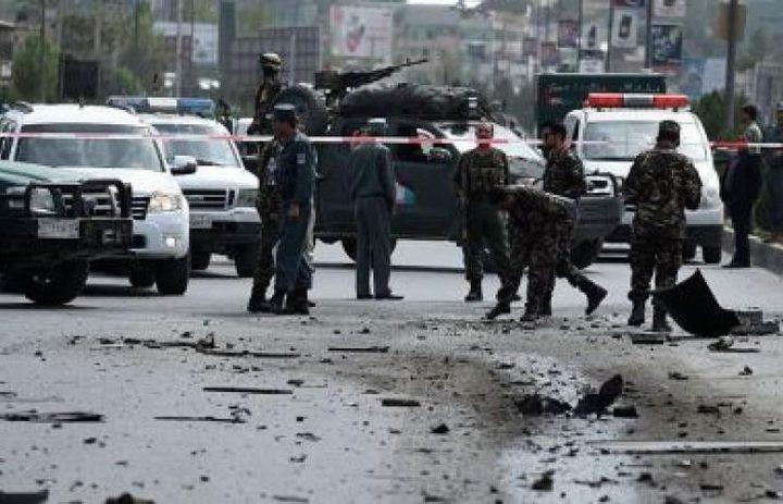 قتلى بانفجار قرب السفارة الأمريكية في كابل