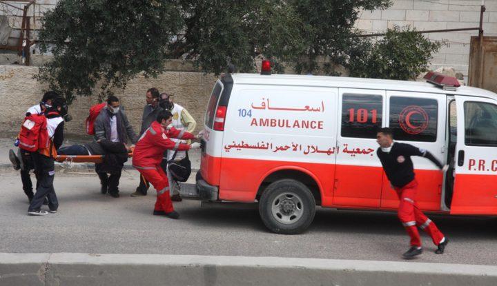إصابة مواطن بجروح خطيرة في حادث سير غرب جنين