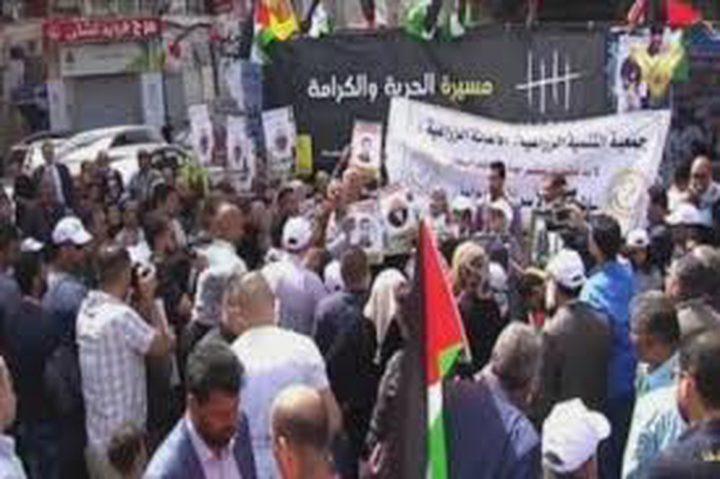 تضامناً مع الأسرى.. خيمة اعتصام في بغداد