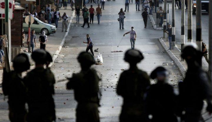 اصابات خلال مواجهات مع الاحتلال
