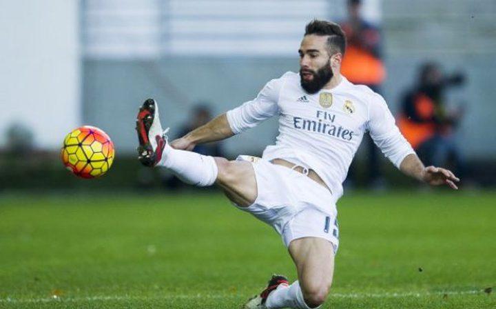 اصابة كارفخال تغيبه عن ريال مدريد
