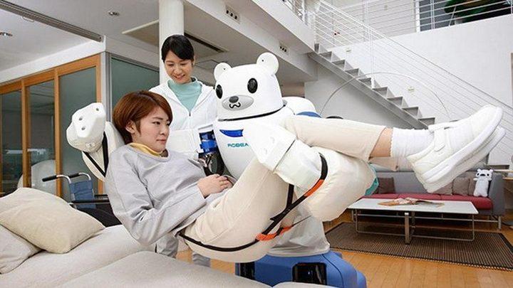 علماء اليابان وبريطانيا يطورون أول ممرضة روبوت