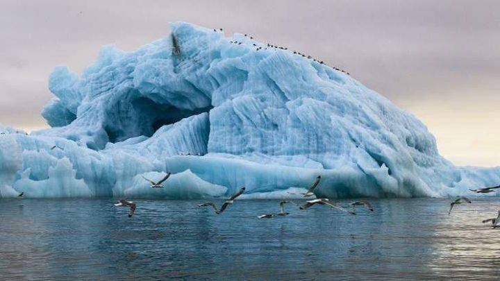 الإمارات تستقدم جبال جليدية لتعديل مناخها