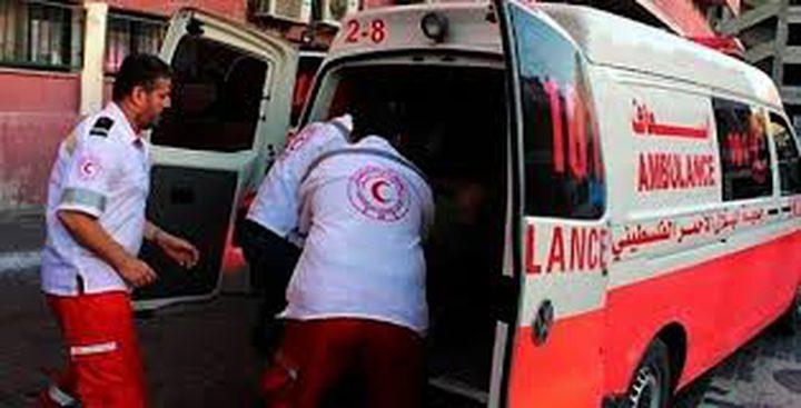 نابلس: إصابة 7 مواطنين بحادثي سير منفصلين