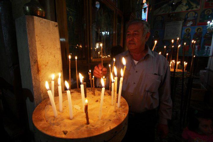 الطوائف المسيحية الشرقية تبدأ احتفالاتها بعيد الخضر