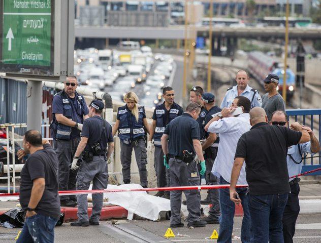 طعن إسرائيلي في تل أبيب