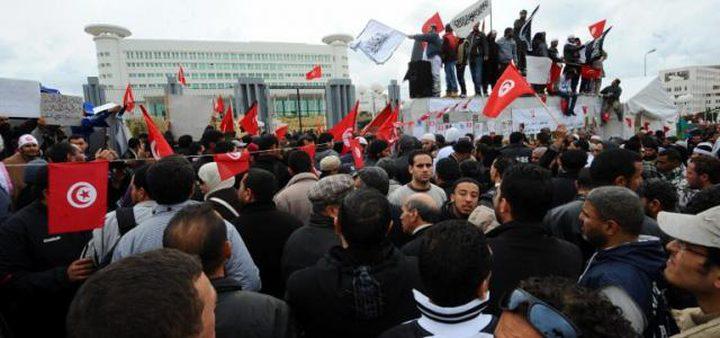 اعتصام جماهيري ضخم في تونس تضامنا مع الأسرى