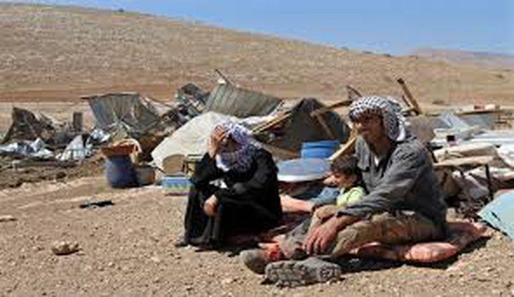 الخارجية تحذر من سياسة التطهير الاسرائيلية بالاغوار