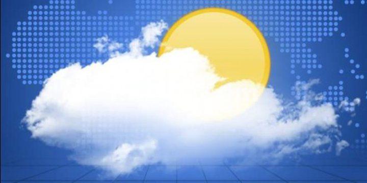 حالة الطقس: الجو صاف بوجه عام ولا تغير يذكر على درجات الحرارة