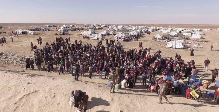 مقتل ثلاثة مدنيين وإصابة آخرين بتفجير في مخيم الركبان