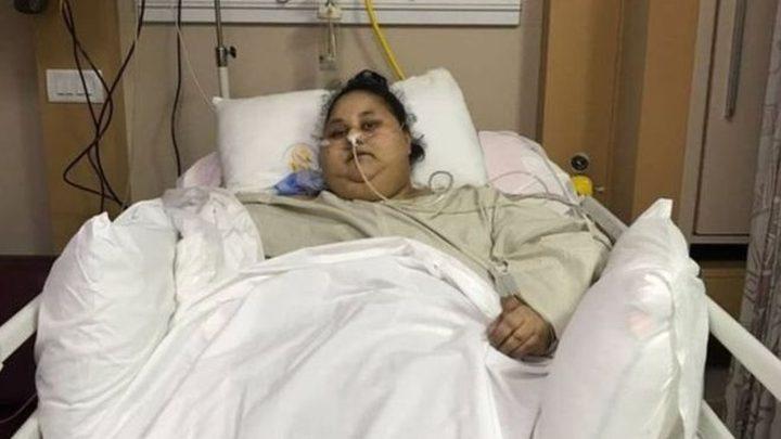 أثقل إمرأة في العالم تنتقل للعلاج في الإمارات