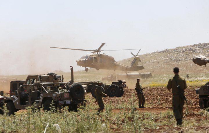 تدريبات عسكرية مفاجئة باسرائيل