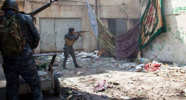 القوات العراقية تقتل خمسة انتحاريين اقتحموا معسكرا