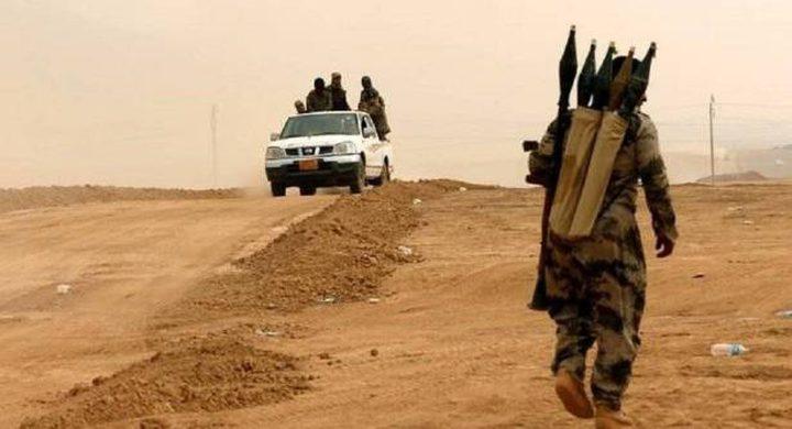 """""""داعش"""" ينكس راياته وينسحب من بين العراق وسوريا"""