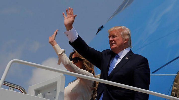 ترامب يصل إسرائيل اليوم