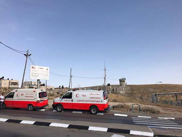 استشهاد شاب شرقي القدس بزعم عملية طعن (صور)
