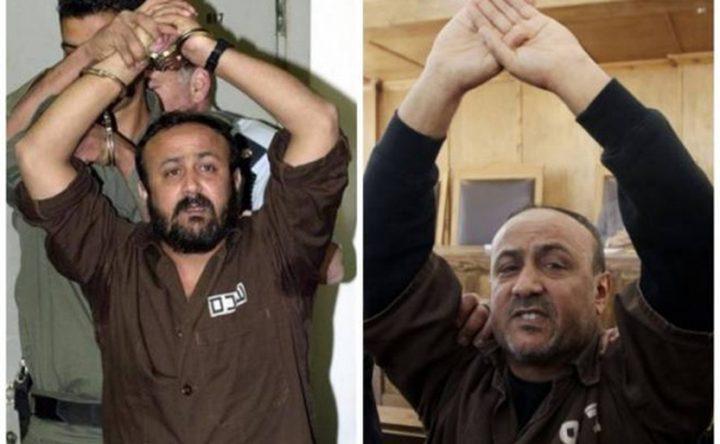 هيئة الاسرى: البرغوثي المستهدف الرئيسي لحكومة الاحتلال