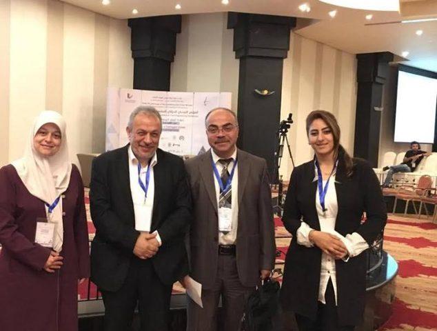 النجاح تشارك ببحثين في مؤتمري بفلسطين والأردن