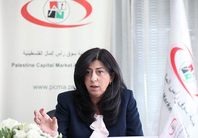 وزيرة الاقتصاد تطلع وفدا أوروبيا على تحديات الاقتصاد الفلسطيني