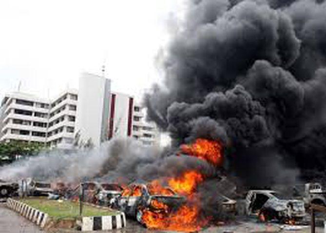 اندونيسيا:انفجاران في محطة باصات