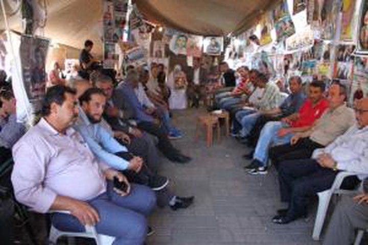 فعاليات تضامنية مع الأسرى في بيت لحم وجنين