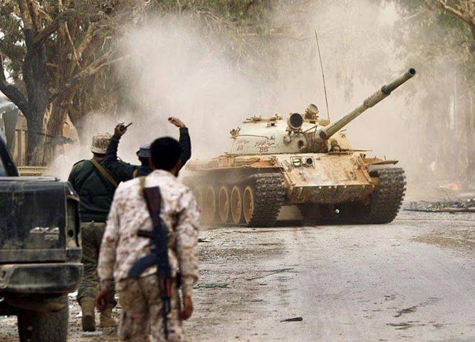 """الجيش الليبي يُسيطر على """"كامل مناطق"""" الجفرة"""