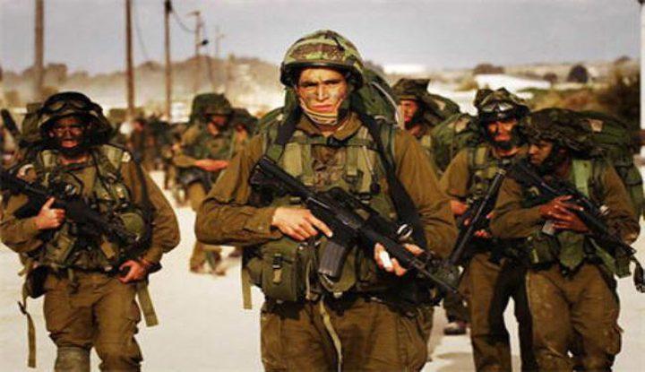 تدريب مفاجئ لجيش الاحتلال شمالا